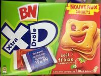 Xtra Drôle - Biscuits fourrés goût fraise - Product - fr