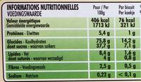 Xtra Drôle - Biscuits fourrés goût fraise - Nutrition facts - fr