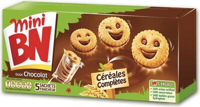 Mini Biscuits Goût Chocolat - Product - en