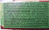 Mini BN - Ingrediënten