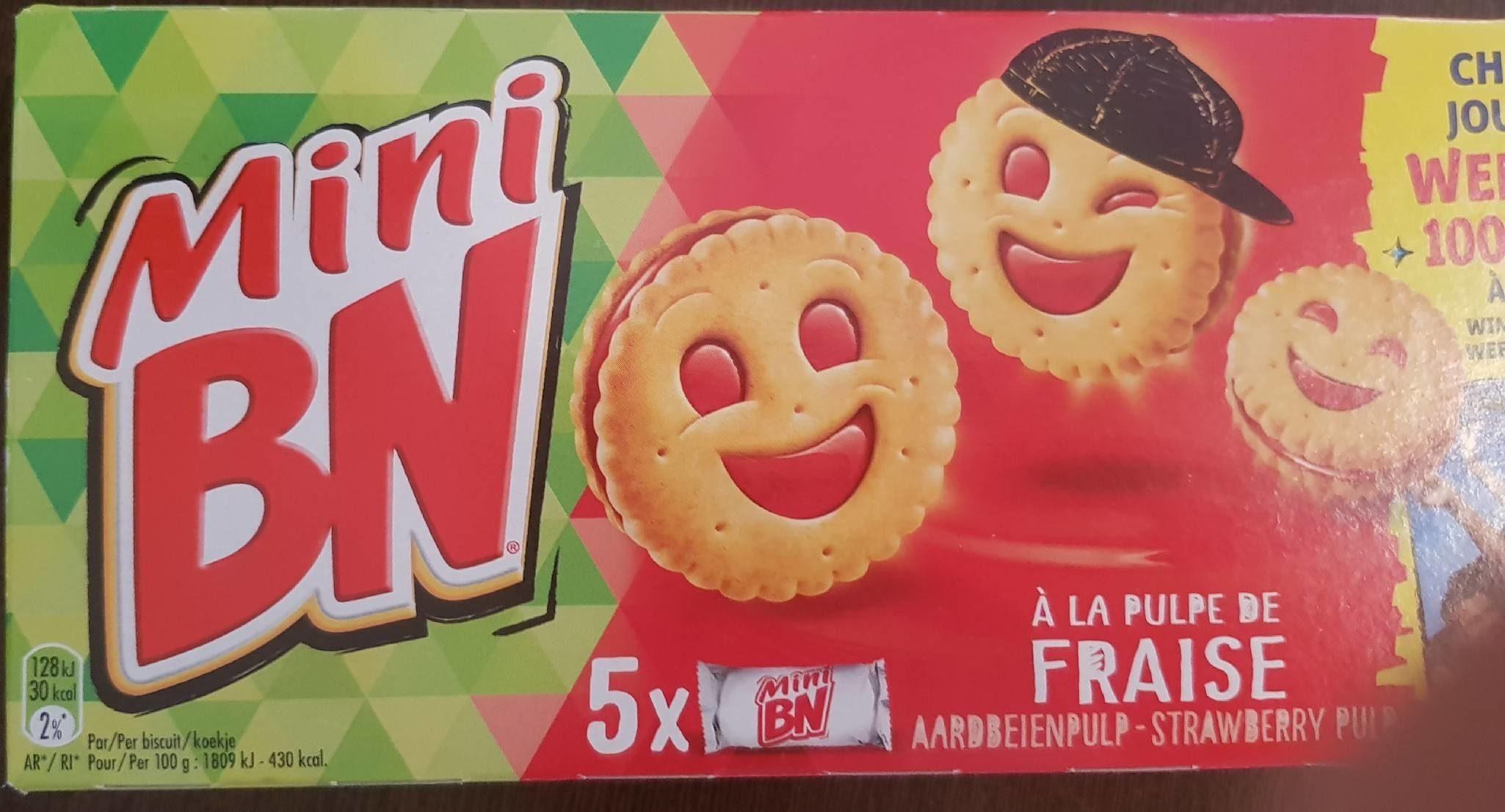 Mini BN à la fraise - Product - fr
