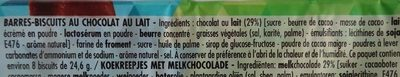 BN Choco Crok - Ingrédients - fr