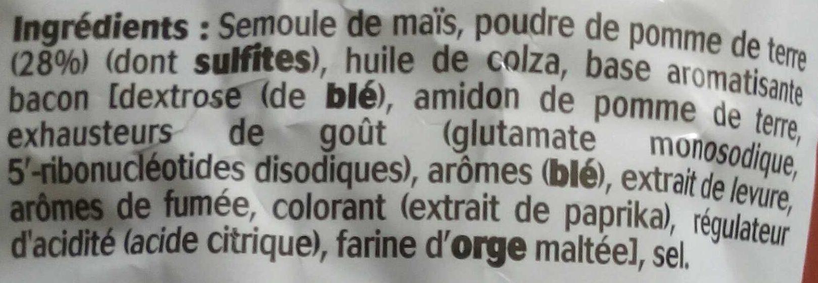 Fritelle, Goût Bacon - Ingrediënten