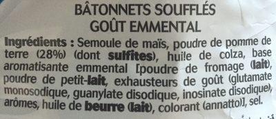 Fritelle emmental - Ingrediënten - fr