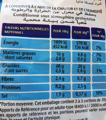 Fritelle emmental - Voedingswaarden - fr