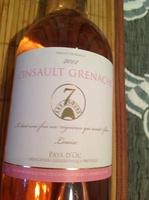 Vin rose cinsault grenache IGP pays d'oc 12,5% - Product - en