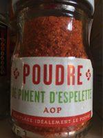 Poudre de piment d'espelette - Produit - fr
