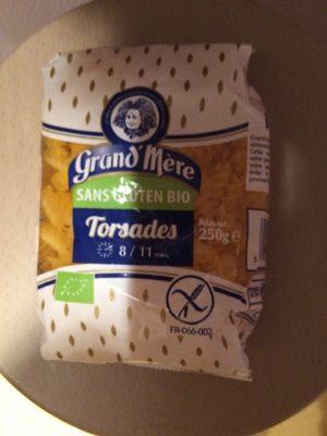 Pates sans gluten - Produit