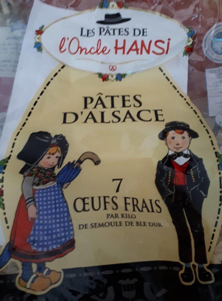 Pâtes d'Alsace - Product