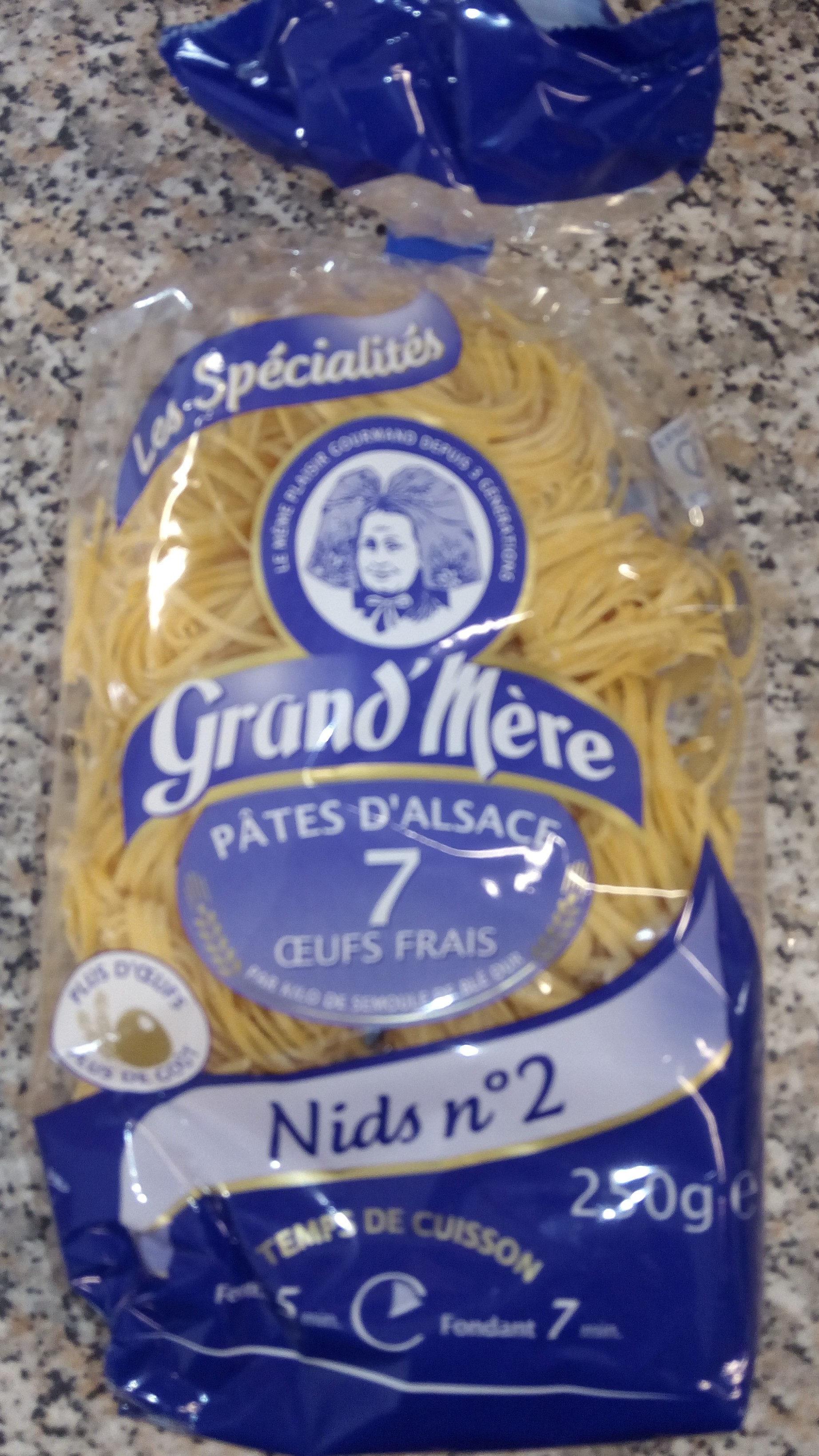 Pâtes d'alsace  Nids n° 2 - 製品 - fr