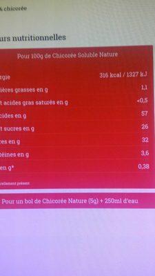 La premiere chicoree grains 500g - Ingredienti - fr