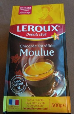 Leroux chicoree moulue 500g - Informations nutritionnelles - fr
