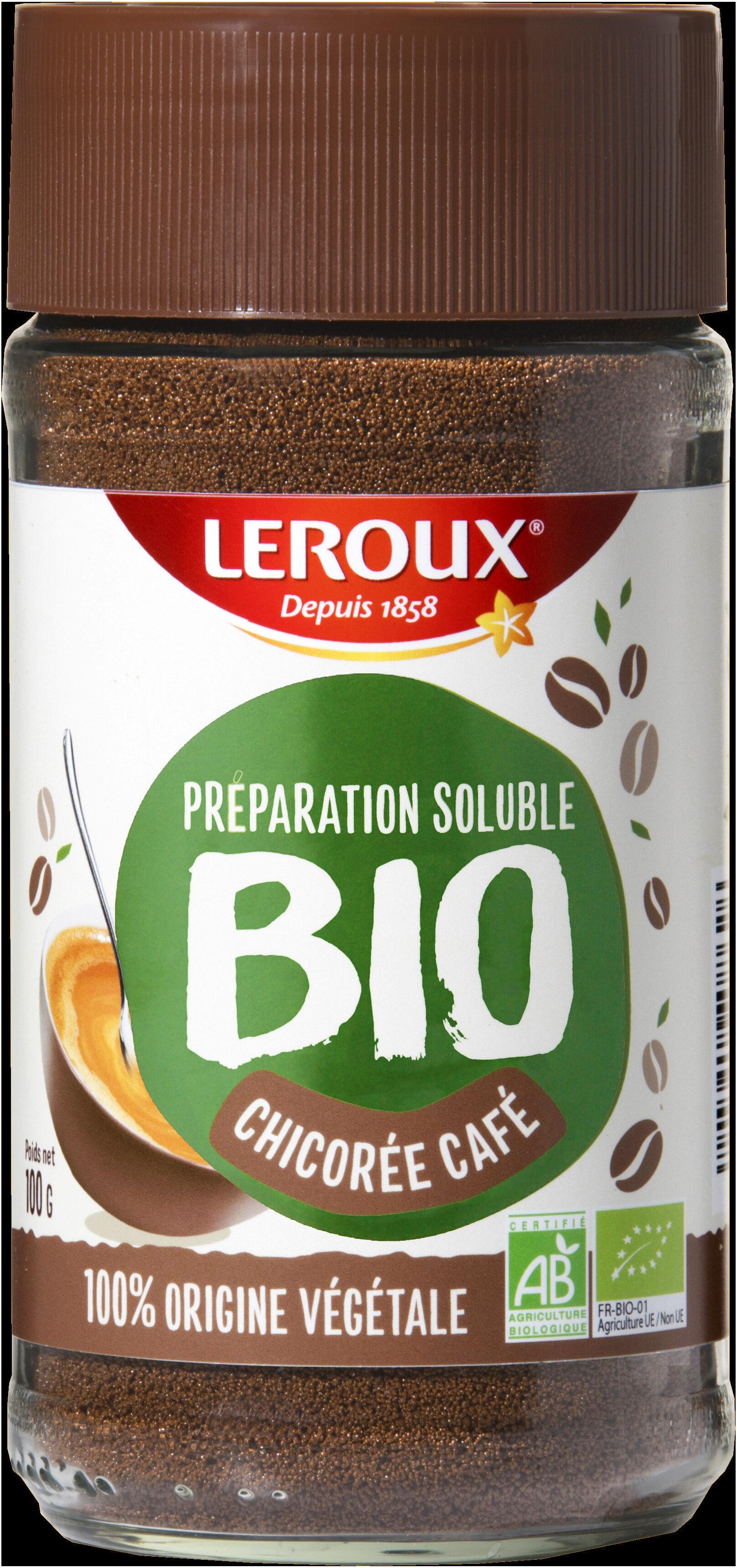 Préparation soluble Chicorée Café Bio - Prodotto - fr