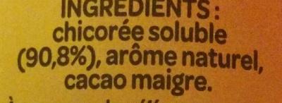 Chicorée caramel - Ingredients