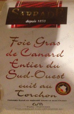 Foie gras de canard entier du sud ouest - Product