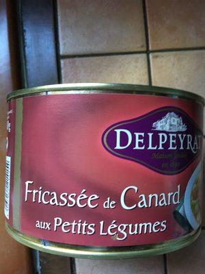 Delpeyrat Fricassée De Canard Petits Légumes Boîte 1.5kg - Product