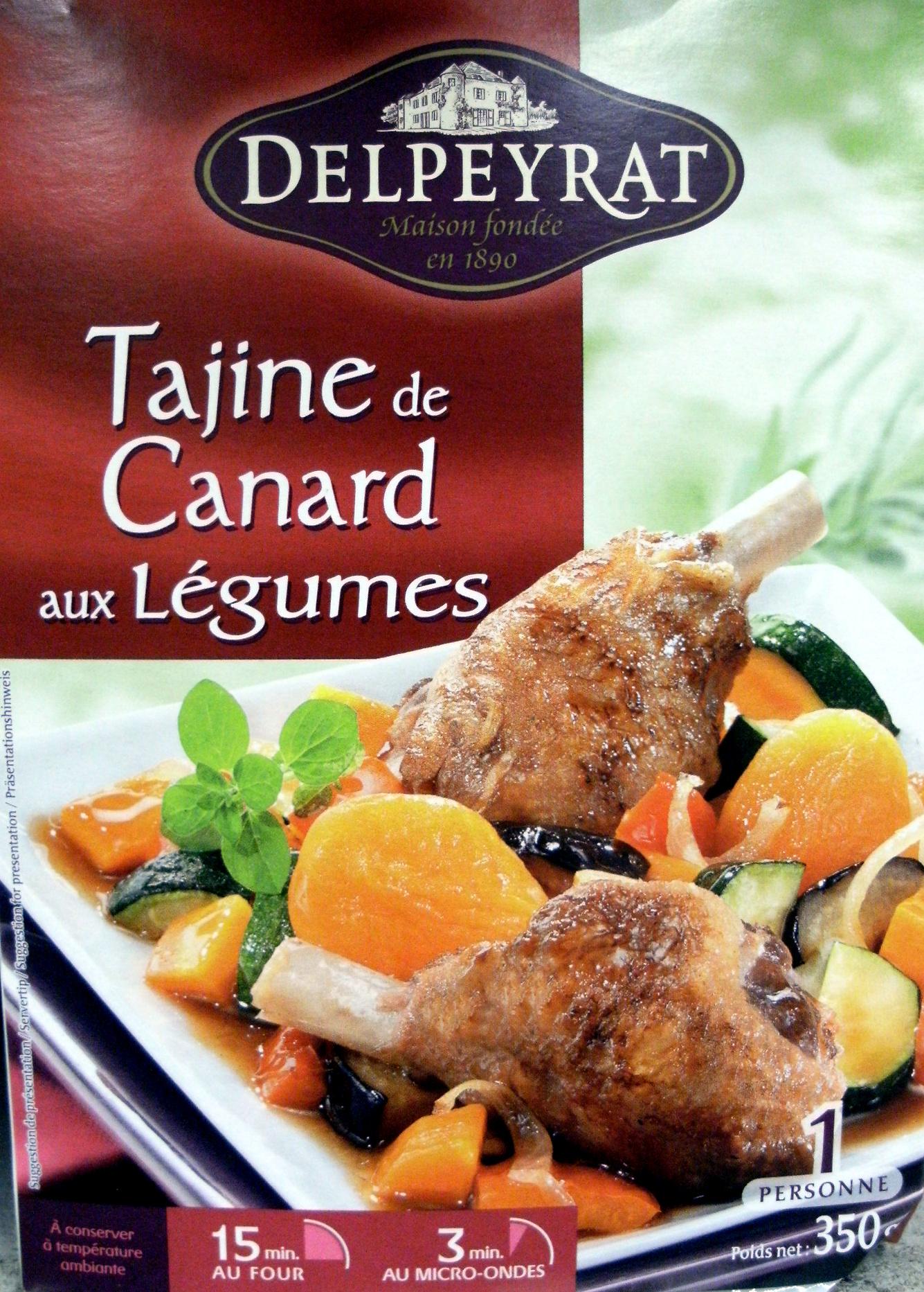 Tajine de Canard aux Légumes - Produit - fr
