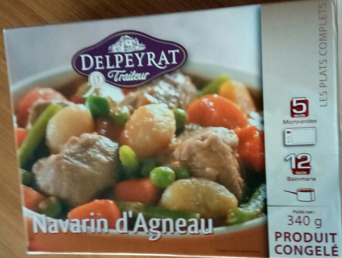 Navarin d'Agneau - Produit