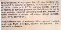Navarin d'Agneau - Ingrédients