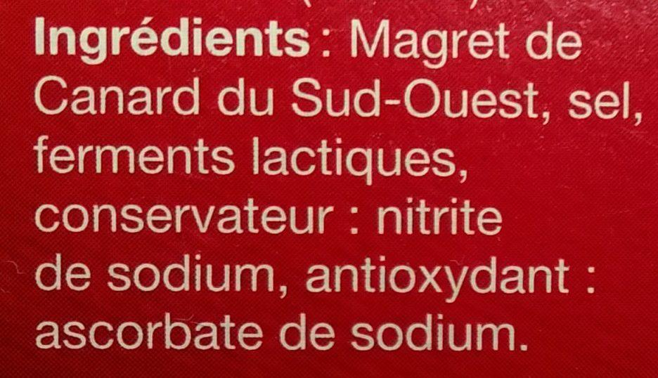 Grandes Tranches Magret de Canard du Sud-Ouest - Ingrédients - fr
