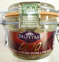 Bocal Foie Gras De Canard Entier - Product - fr