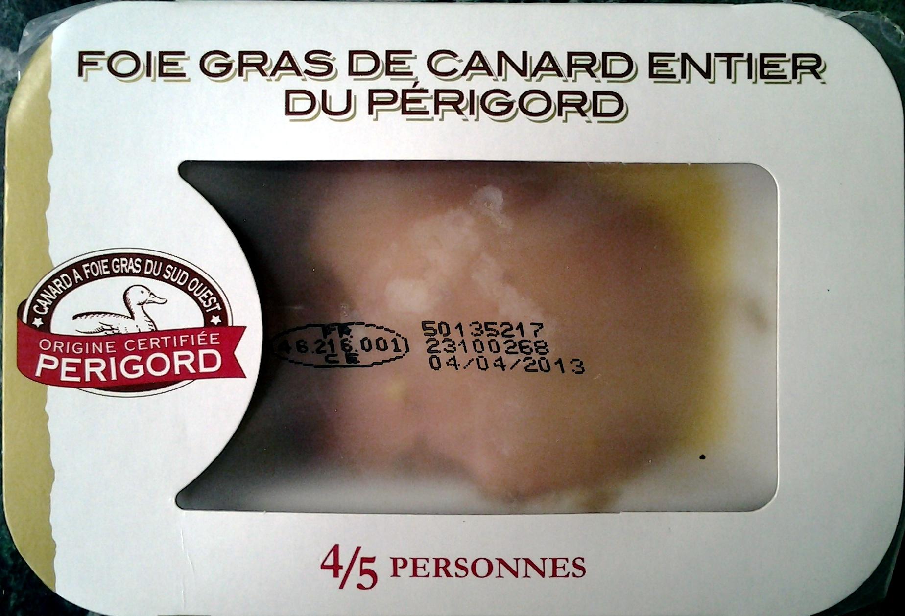 Foie gras de Canard entier du Périgord - Produit - fr
