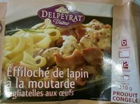 Effiloché de lapin à la moutarde - Product