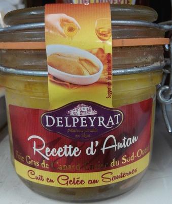 Foie gras de canard entier du Sud-Ouest cuit en gelée au Sauternes - Product