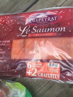 Saumon Fumé Écosse - Produit - fr