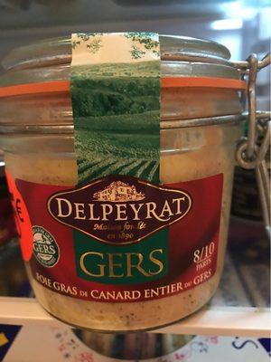 Foie gras de canard entier du gers - Product - fr