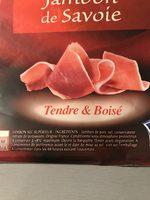 Jambon sec de Savoie Delpeyrat - Ingredients