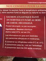 Le Saumon - Norvège - Ingrédients - fr