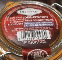 Foie gras de canard entier du Sud Ouest - Produit