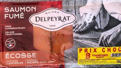 Saumon fumé Ecosse - Product
