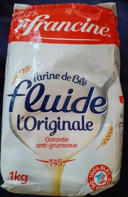FARINE FLUIDE - Nutrition facts - fr