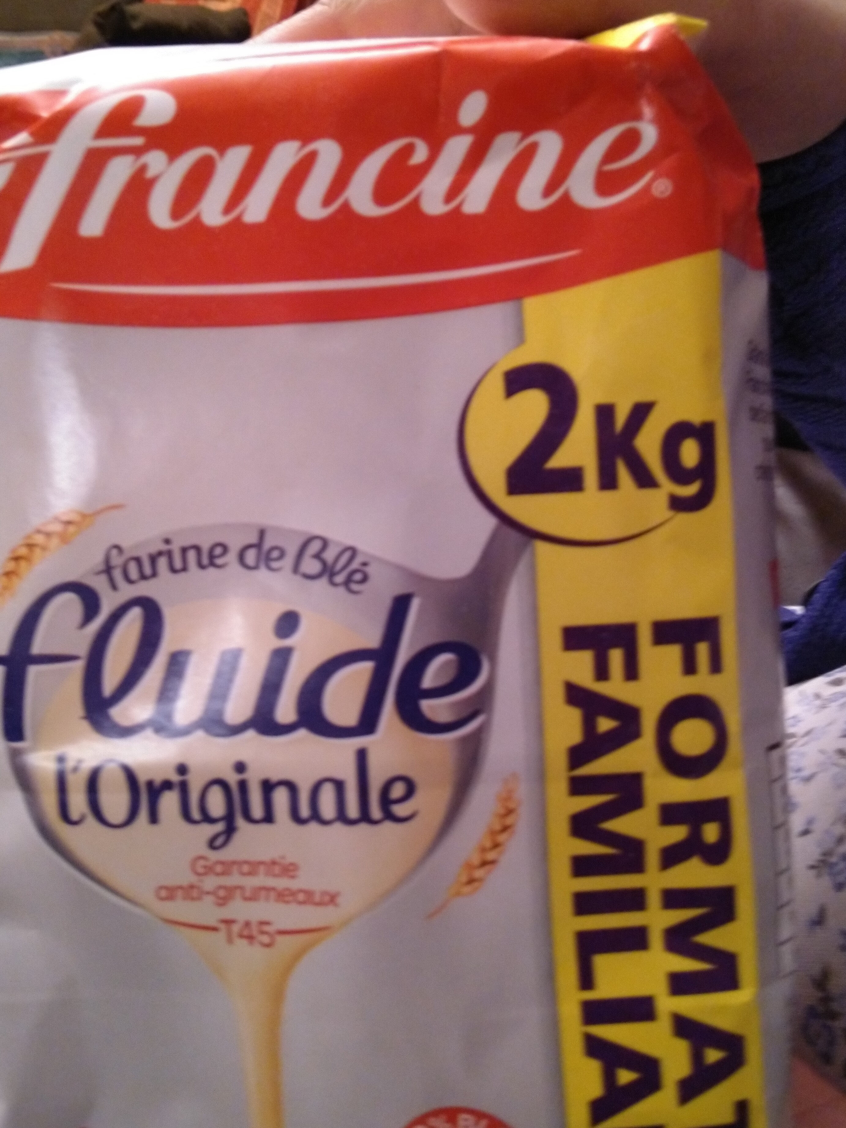 Farine de ble fluide PROMO : 25% - Produit