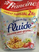 Farine de blé fluide garantie anti-grumeaux (format familial) - Produit - fr