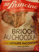 Ma brioche au chocolat avec levure incorporée - Produit - fr
