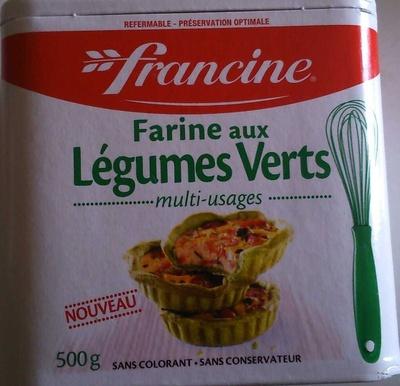 Farine aux légumes verts - Produit