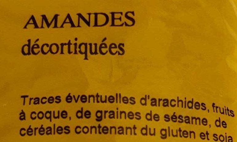 Amandes - Ingredients - fr