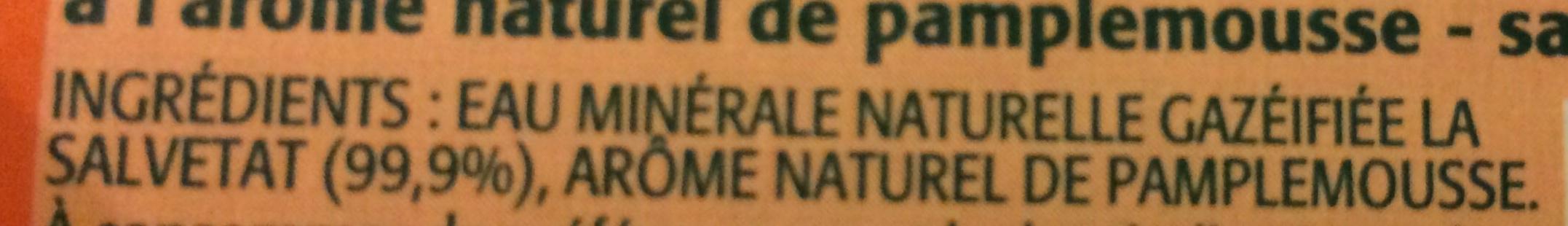 Sans sucres Agrumes - Ingrédients - fr