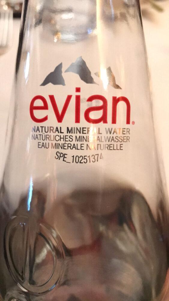 Evian Pure, Ohne Kohlensäure, Einweg, Glasflasche - 0.75L - Product - fr