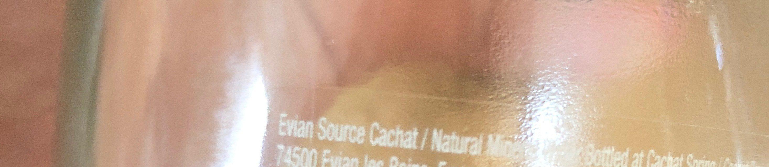 Evian Pure, Ohne Kohlensäure, Einweg, Glasflasche - 0.75L - Ingredients - fr
