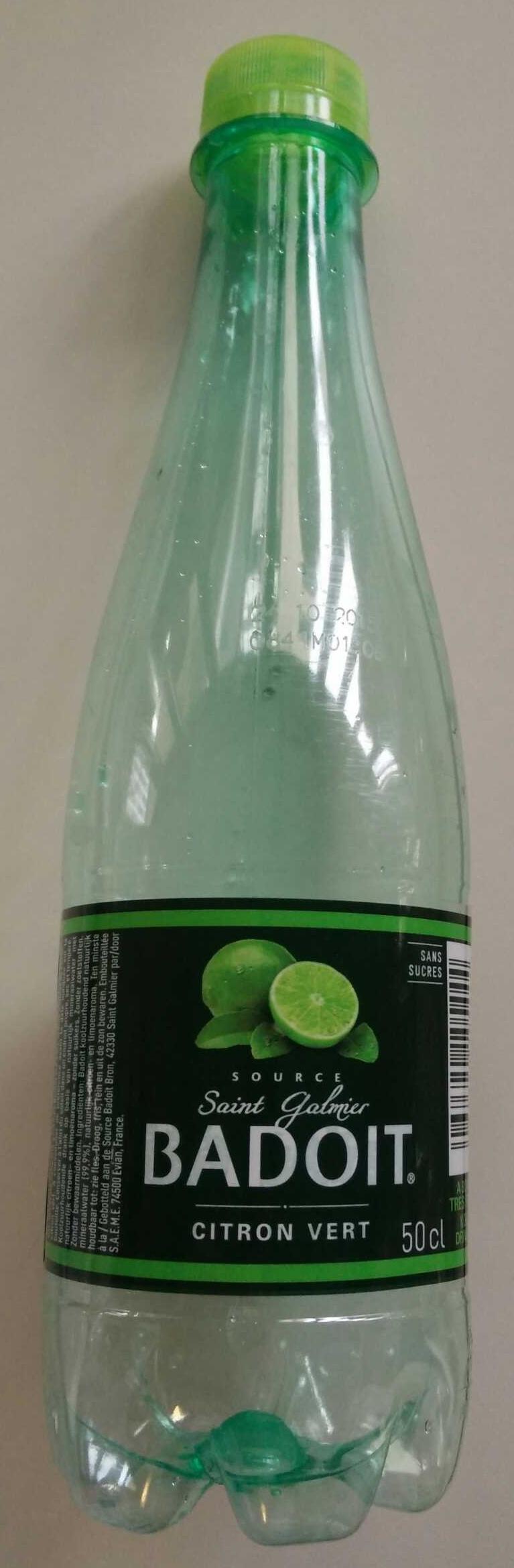 Badoit citron vert - Product - fr
