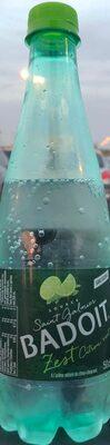 Badoit zest citron vert - Produit