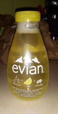 Evian fruits & plantes eau des alpes + citron + sureau - Product