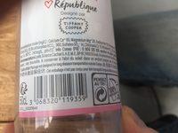 Eau minerale naturelle - Ingredients - fr