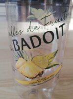 Bulles de fruit ananas touche de citron vert - Produit