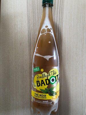 Badoit Bulles & Thé Noir Parfum Citron - Product - fr