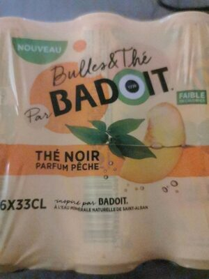 Badoit thé pêche - Product - fr